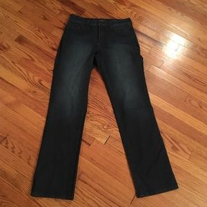 NYJD Embroidered pocket jeans